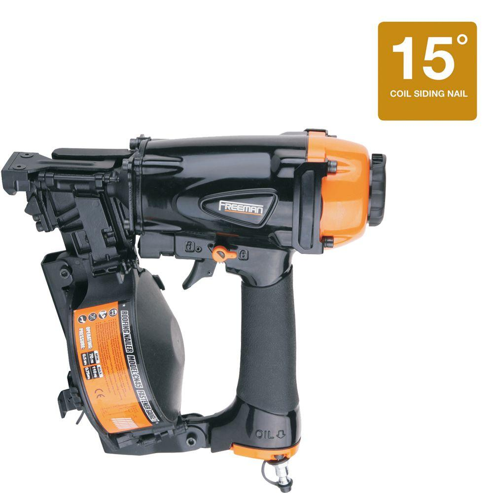 Freeman Reconditioned Class A 15-Degree Coil Roofing Nailer-DISCONTINUED