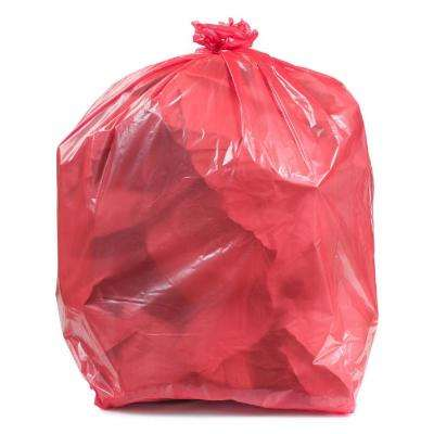55-60 Gal. Red Trash Bags (Case of 100)