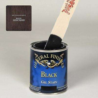 1 qt. Black Oil-Based Interior Wood Gel Stain