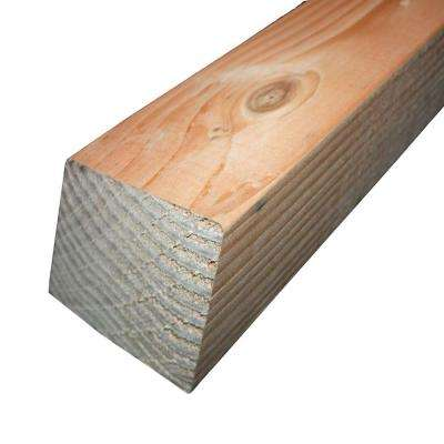 4 in. x 4 in. x 10 ft. Prime #2 and Better Douglas Fir Lumber