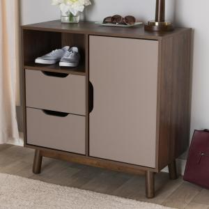 Britta Brown and Gray Sideboard