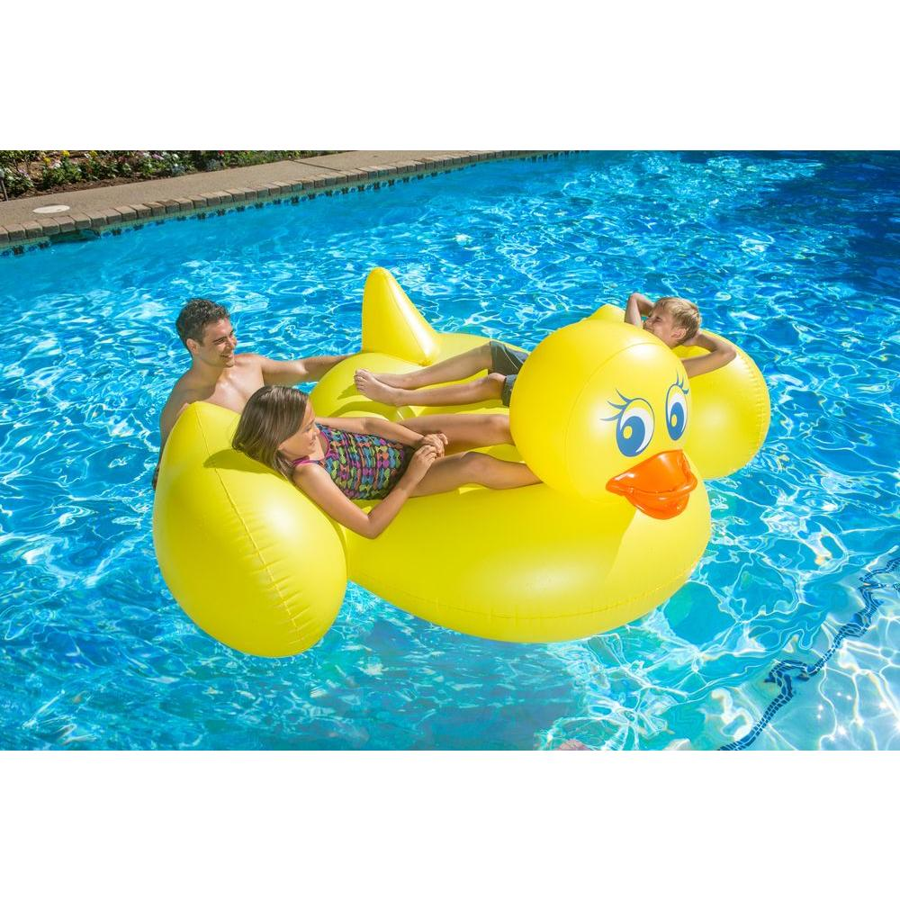 Jumbo Duck Swimming Pool Float