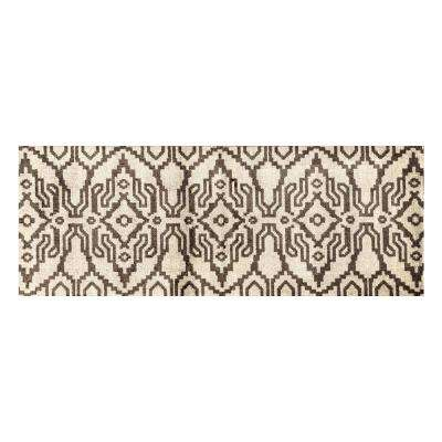 In-Home Washable/Non-Slip Ikat 2 ft. 3 in. x 6 ft. 3 in. Runner Rug