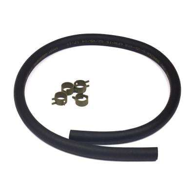 Fuel Hose with Clamps