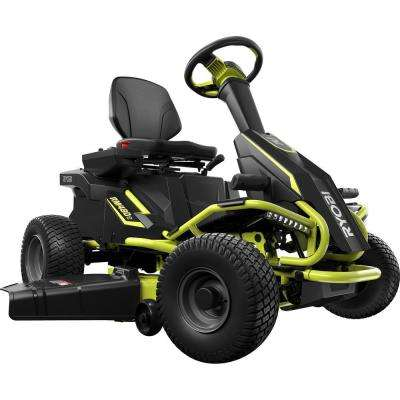 38 in. 75 Ah Battery Electric Rear Engine Riding Lawn Mower