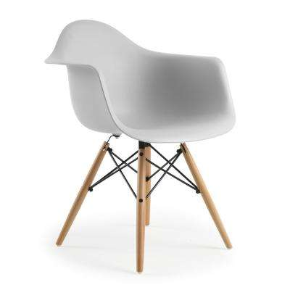 Vortex Harbor Grey Arm Chair