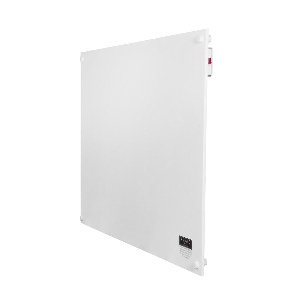 Amaze 250-Watt Convection and Radiant Wall Mount Electric Space Heater in White | AH250USM