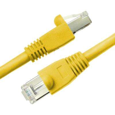 3 ft. Cat6a Snagless Shielded (STP) Network Patch Cable, Yellow