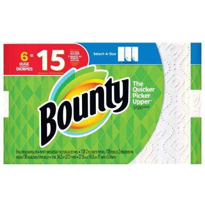 Select-A-Size White Paper Towels (6-Huge Rolls)