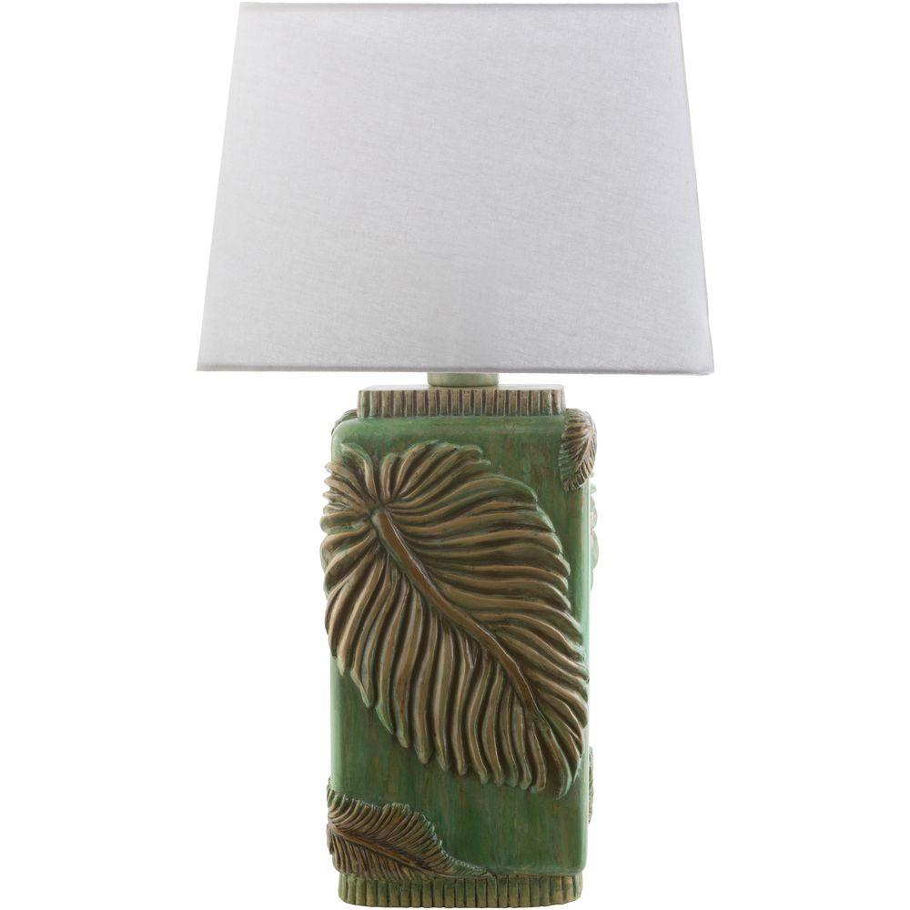 Green Indoor Outdoor Table Lamp