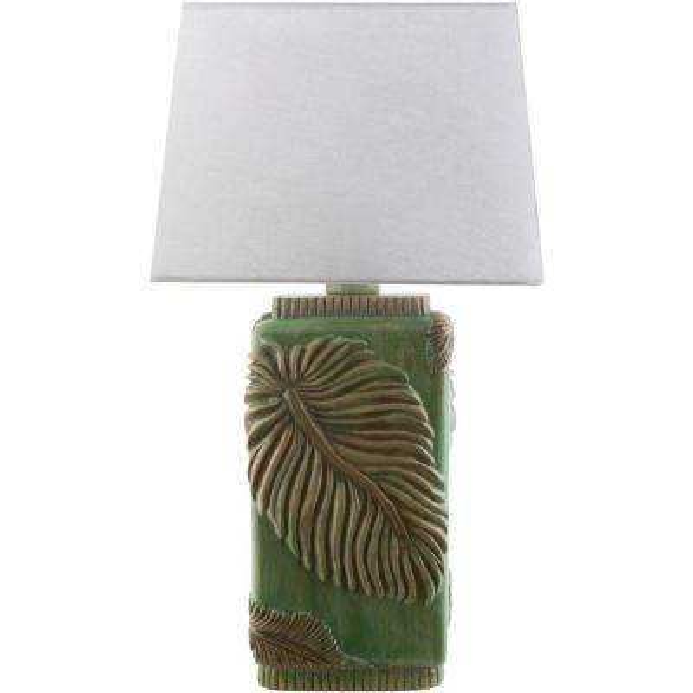 Miksa 27 in. Green Indoor/Outdoor Table Lamp