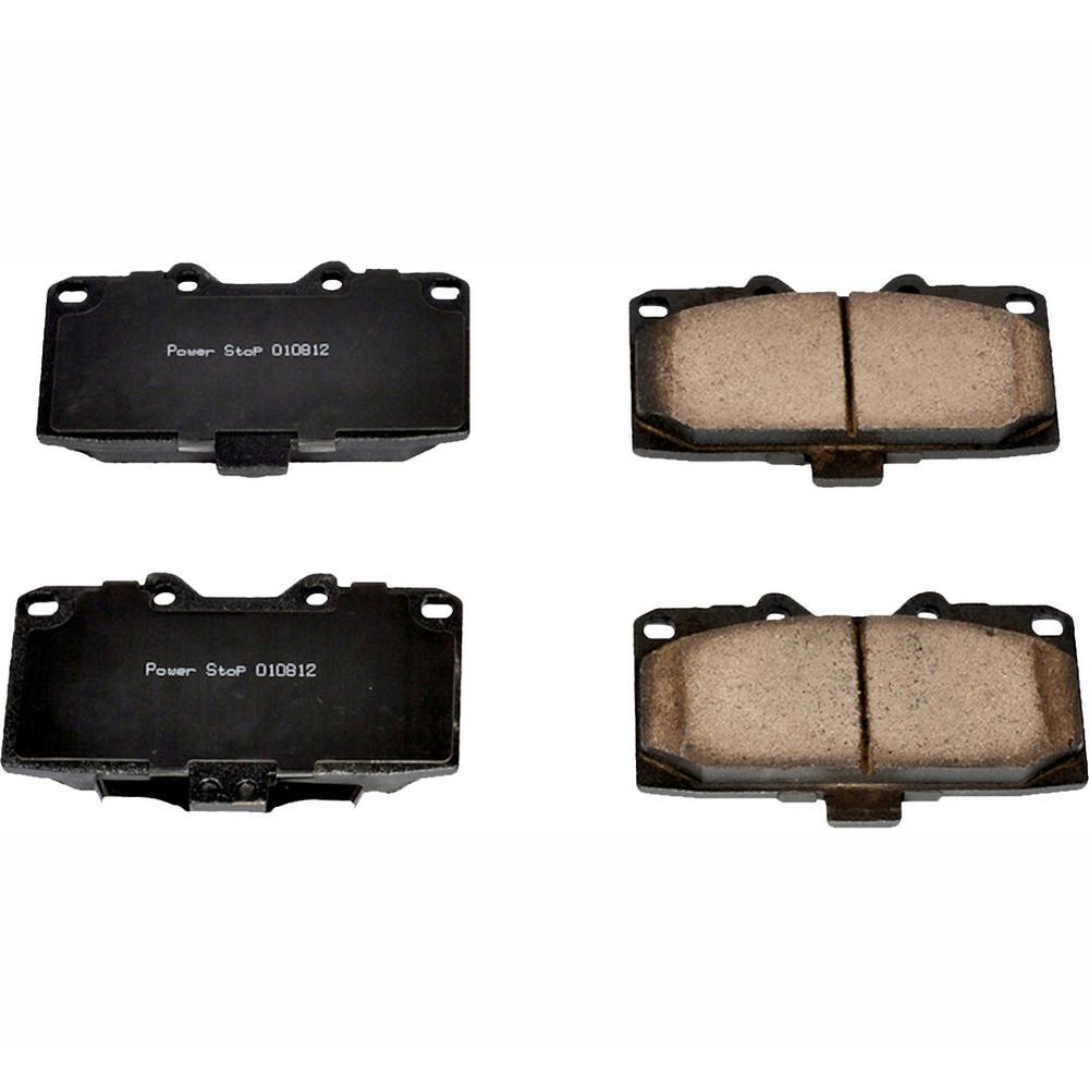 Power Stop Disc Brake Pad Set 2006-2007 Subaru Impreza 2 5l