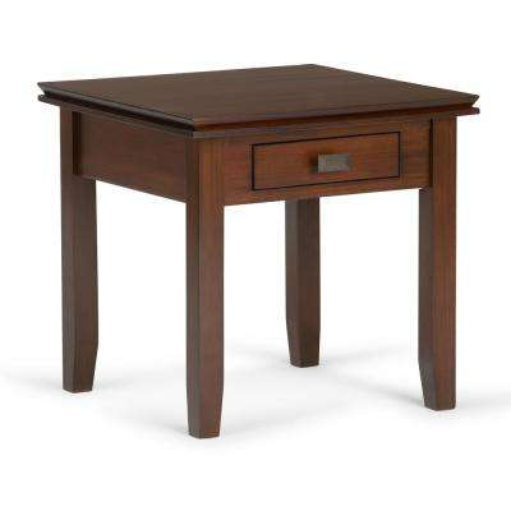 Artisan Medium Auburn Brown End Table