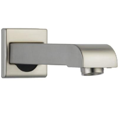 Arzo and Vero 7 in. Metal Non-Diverter Tub Spout in Stainless