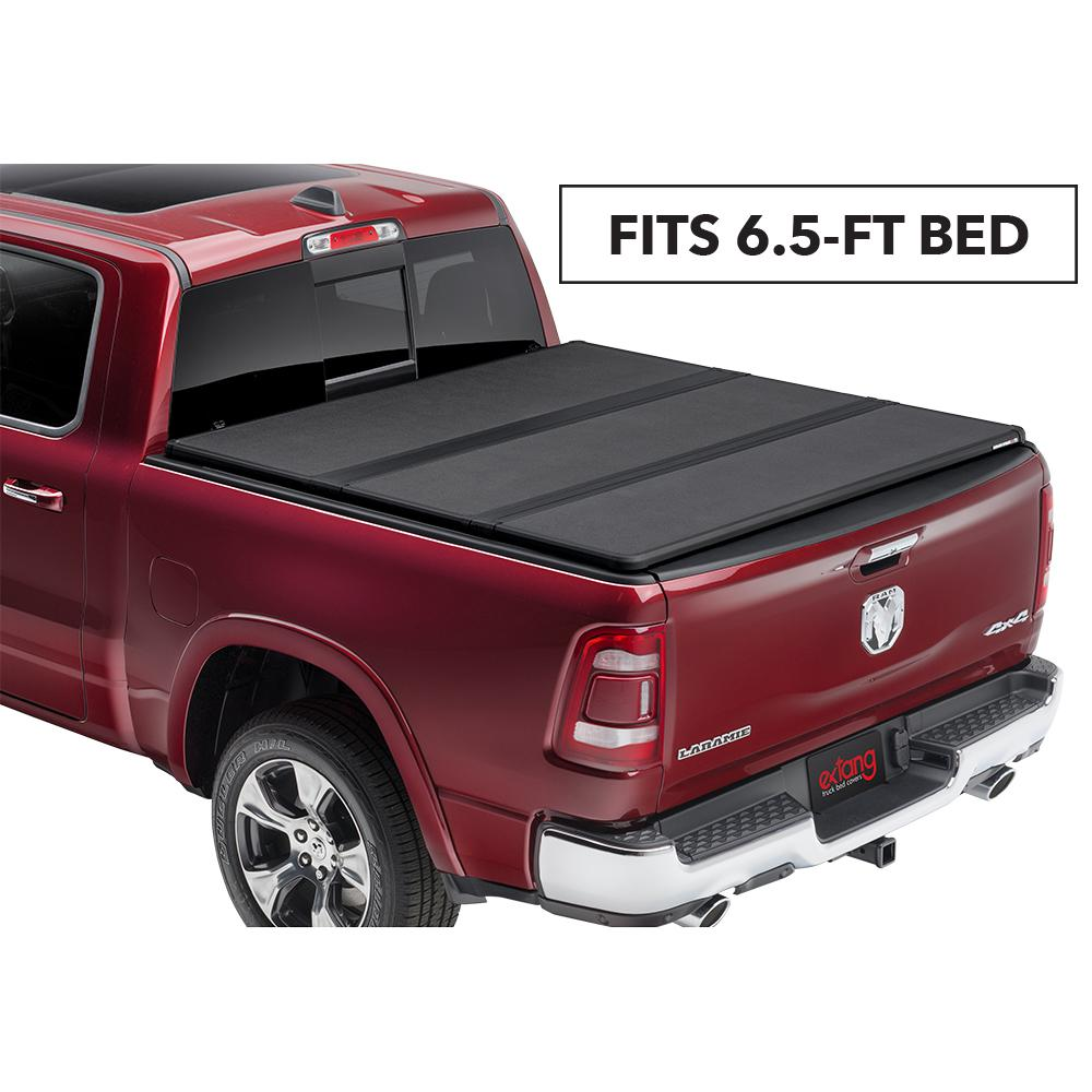 Extang Solid Fold 2 0 Tonneau Cover For 02 08 Dodge Ram 1500 03 09 2500 3500 6 Ft 4 In Bed Includes Mega Cab 83770 The Home Depot