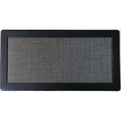 Anti-Fatigue Grey 20 in. x 36 in. PVC Leather Frame Comfort Kitchen Mat