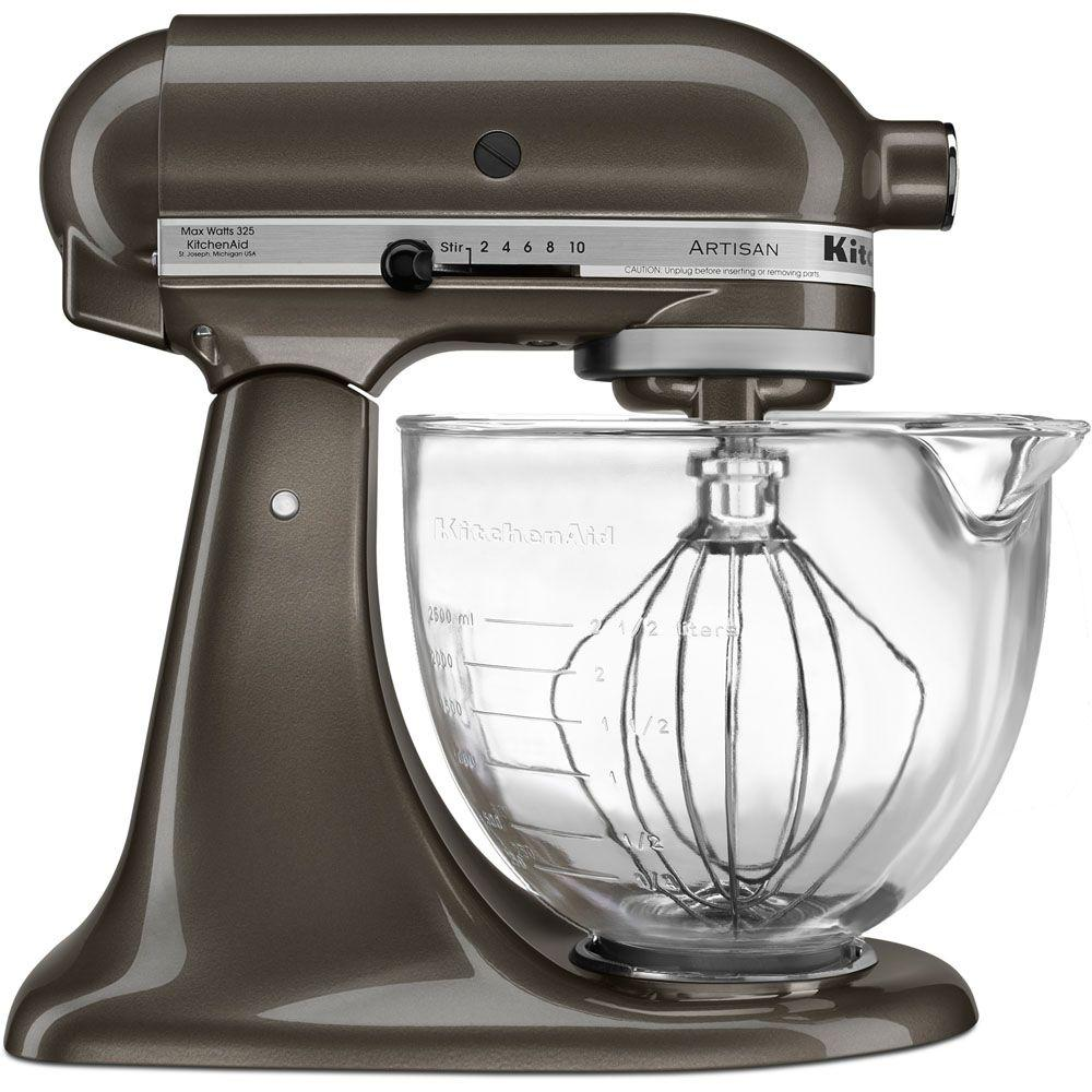 KitchenAid Artisan Designer 5 Qt. Truffle Dust Stand Mixer ...