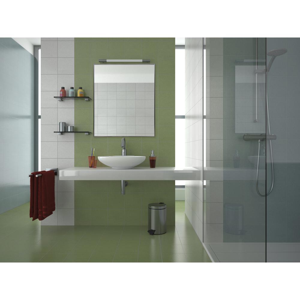 Rectangular Nickel Aluminum Vanity Wall Mirror
