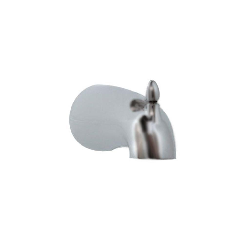 Tropic Slip-On Diverter Tub Spout in Brushed Nickel
