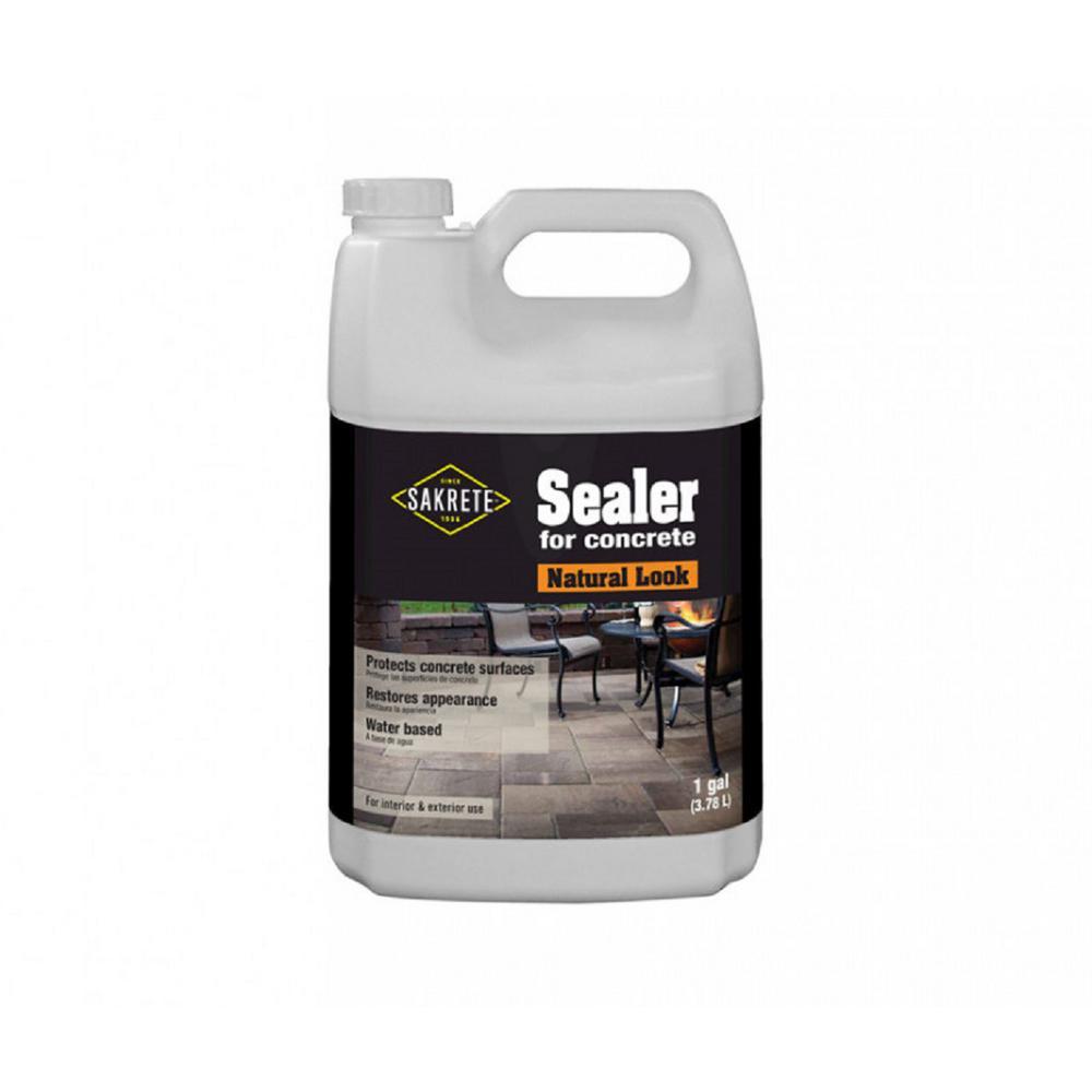Sakrete 1 Gal Natural Look Paver Sealer 2 Pack 65450282 The Home Depot