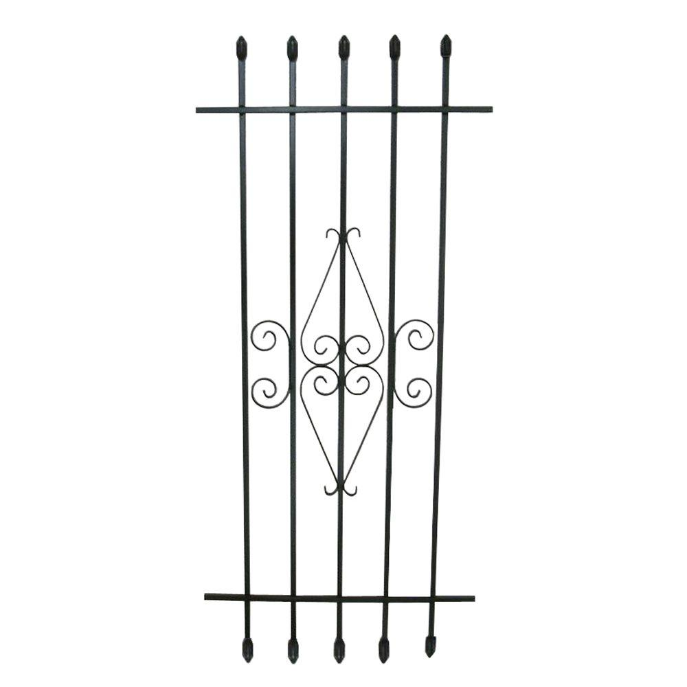 Grisham 24 in. x 54 in. Spear Point Window Guard