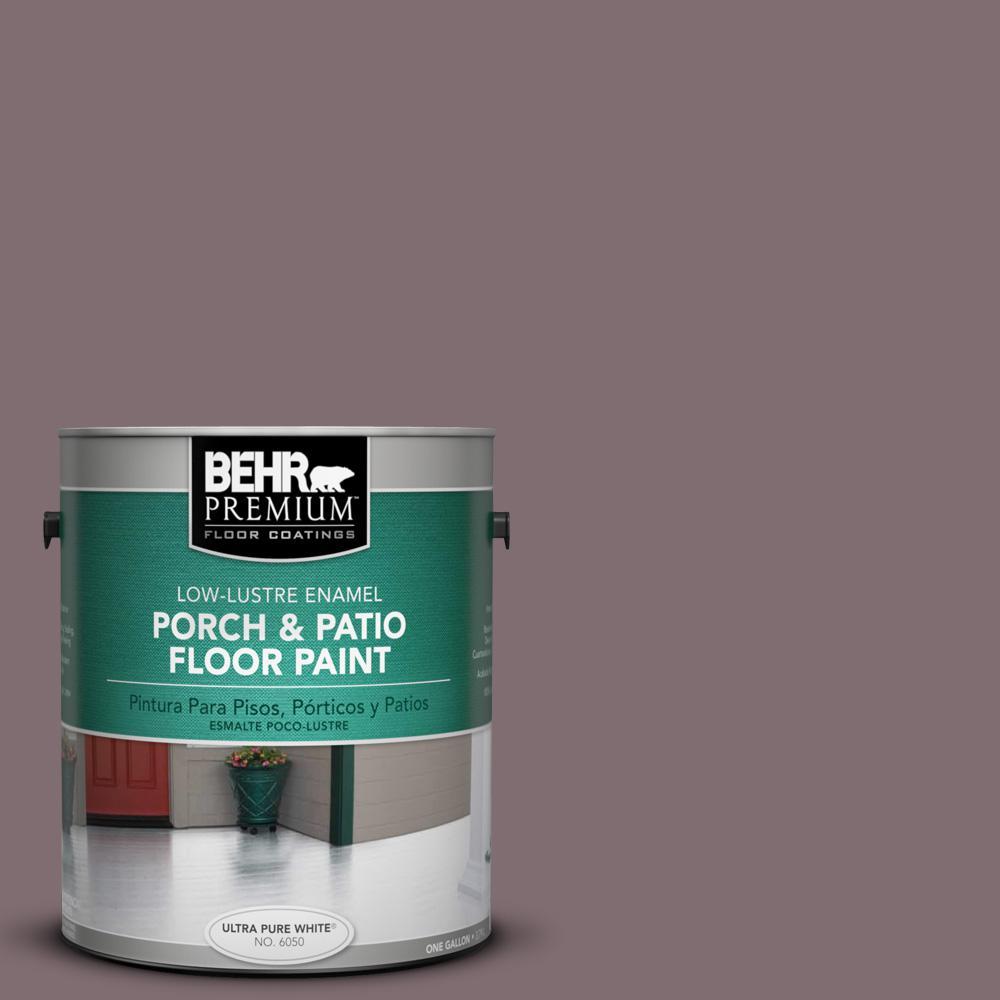 1 gal. #N110-5 Royal Raisin Low-Lustre Porch and Patio Floor Paint