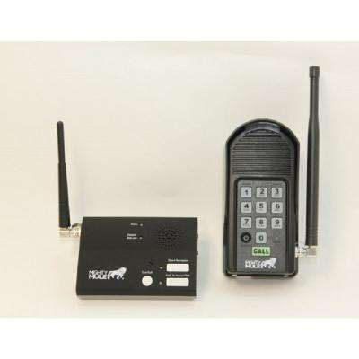 Wireless Intercom Keypad and Base Station Kit for Gate Openers