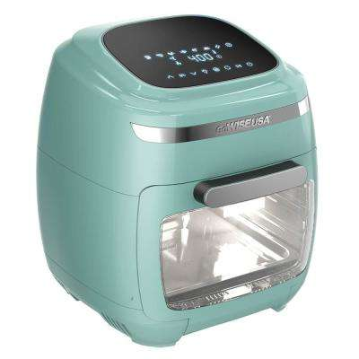 1700 Watt Mint Multi Vibe Air Fryer Oven with Rotisserie and Dehydrator Functions,
