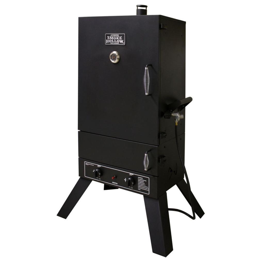 Smoke Hollow 7 cu. ft. Vertical Dual Burner Propane Gas Smoker
