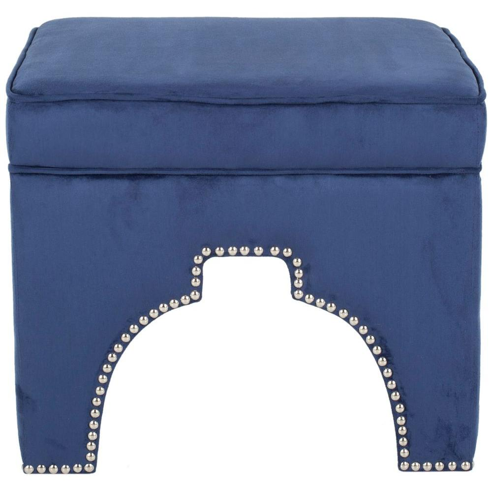 Grant Navy Accent Ottoman