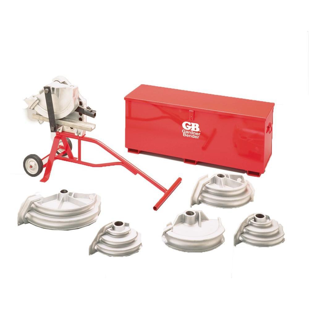 Gardner Bender Sidewinder Bender Kit for all conduit types EMT, Rigid and IMC, Aluminum Mech