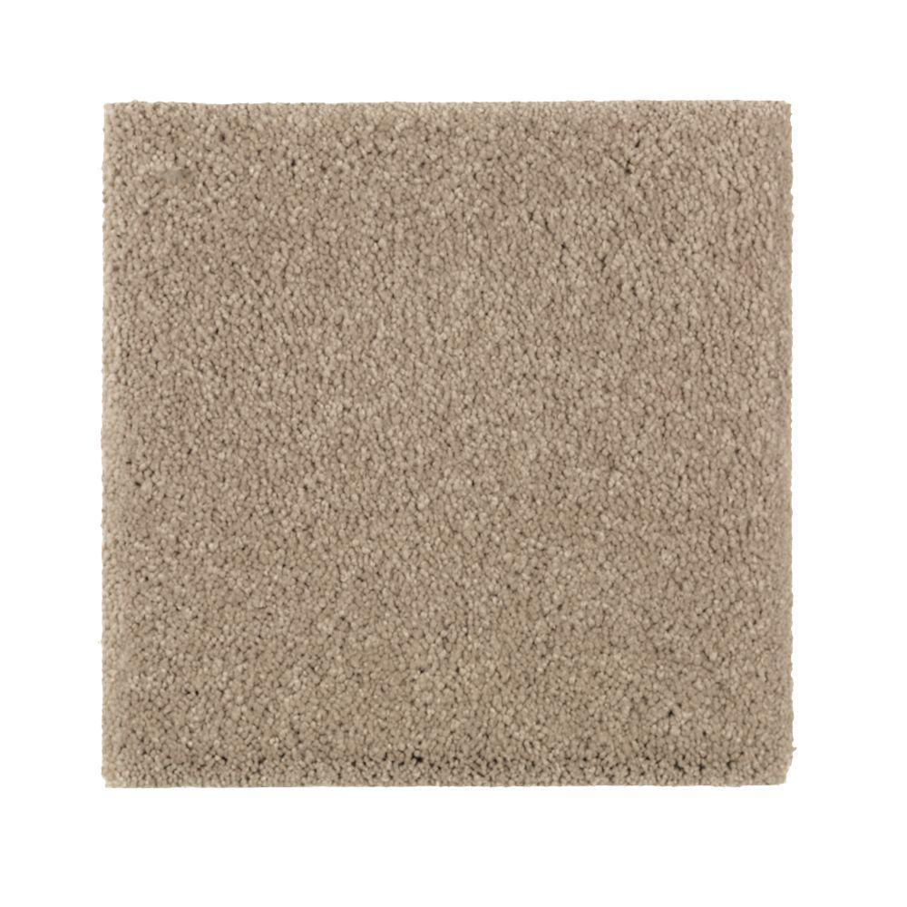Gazelle II - Color Carrington Beige Texture 12 ft. Carpet