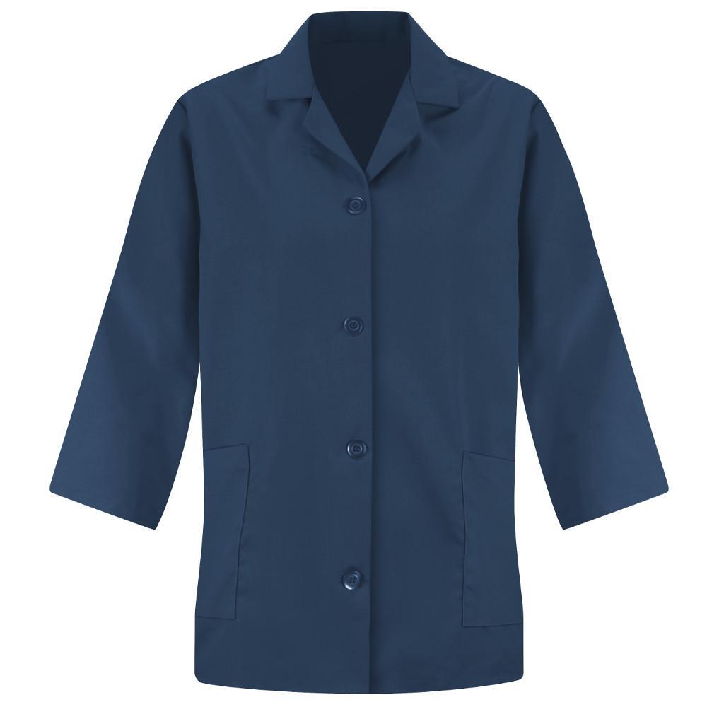 Women's Size XL Navy Smock Sleeve