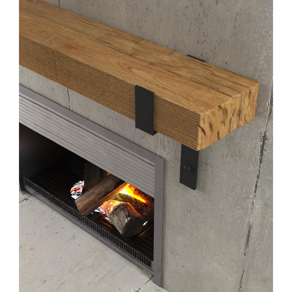 Urban Woodcraft Kingsley 48 In Fireplace Wall Mantel Shelf Natural