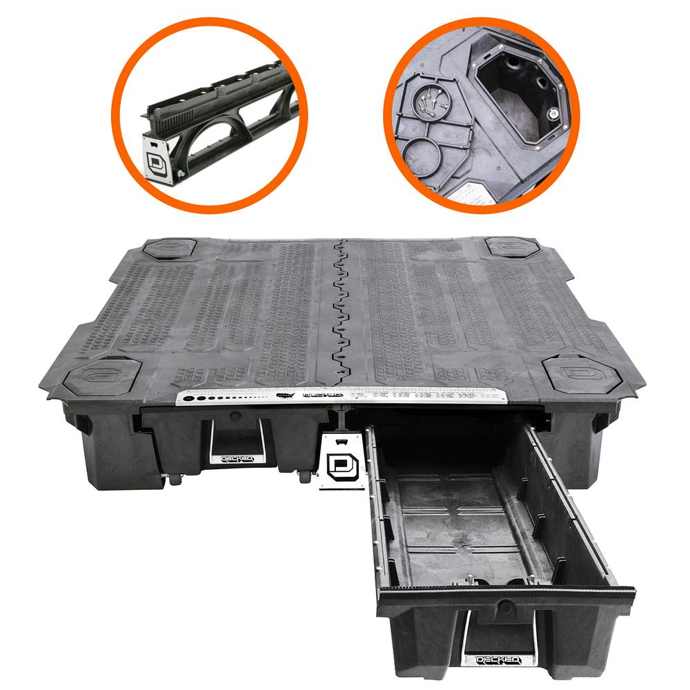 Storage Express Home: DECKED Cargo Van Storage System For Chevrolet Express Or