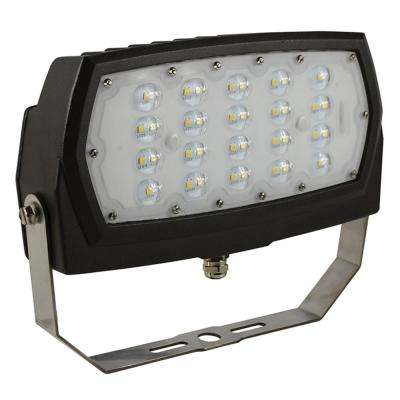 ProLED 48-Watt Bronze Outdoor Integrated LED Medium Landscape Flood Light Fixture