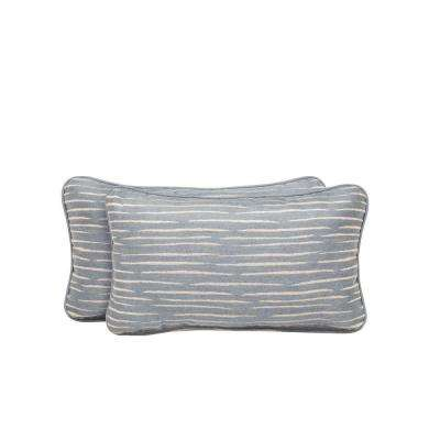 Vineyard Congo Outdoor Lumbar Pillow (2-Pack)