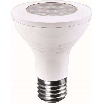 60-Watt Equivalent 8-Watt PAR20 Dimmable LED Narrow Flood Amber Turtle Friendly Light Bulb 82067