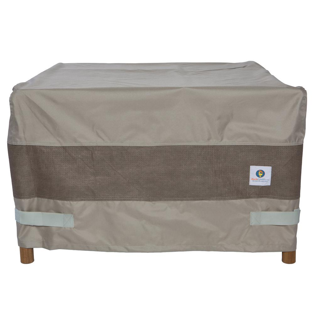 Duck Covers Elite 40 In Square Fire Pit Cover Mfps4040