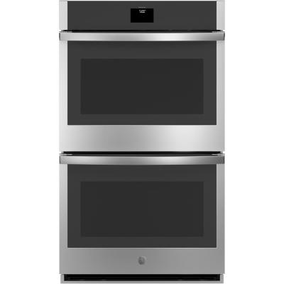 30 in. Smart Double Electric Wall Oven with Convection (Upper Oven) Self-Cleaning in Stainless Steel