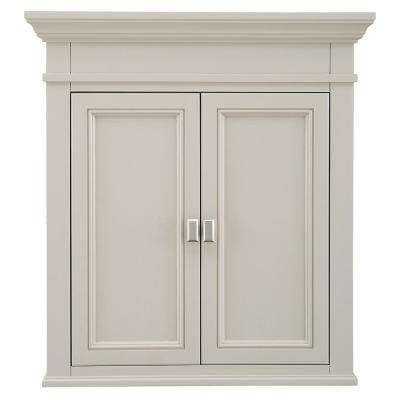 Braylee 26 in. W x 28 in. H Wall Cabinet in Rainy Day