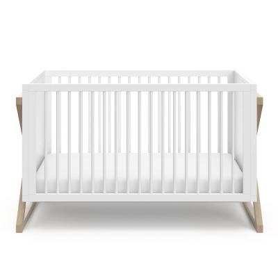 Equinox Vintage Driftwood 3 in-1-Convertible Crib