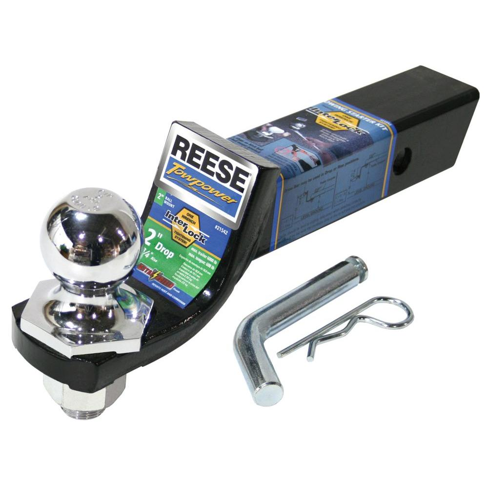 Tow Hitch Installation >> Reese Towpower Class III 2 in. Interlock Starter Kit ...