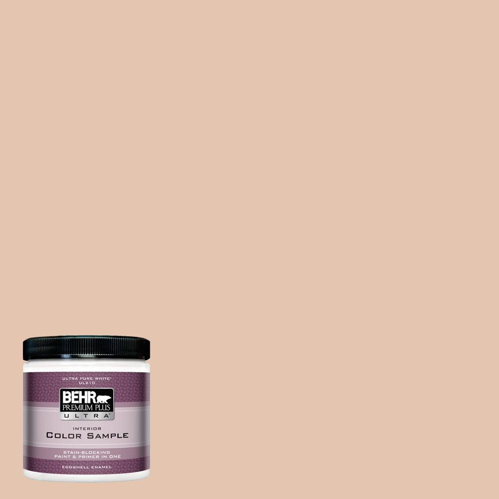 8 oz. #MQ1-31 Cockleshell Eggshell Enamel Interior Paint and Primer in