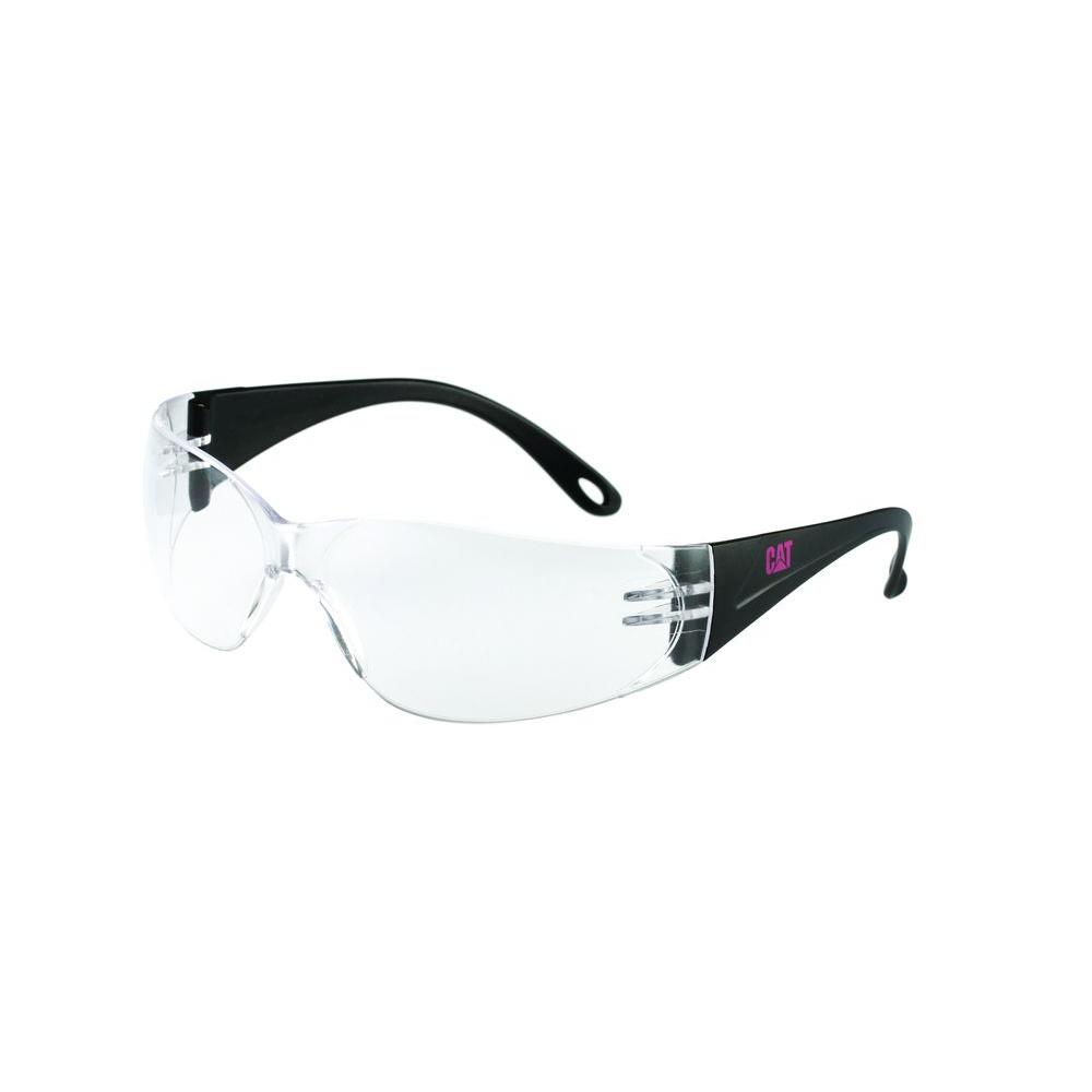 Safety Glasses Jet Clear Lens with Case