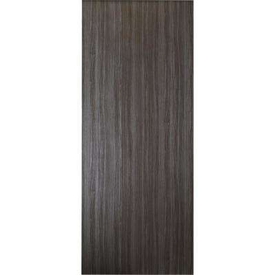 36 in. x 80 in. Paola Gray Oak Finished Textured Solid Core Composite Interior Door Slab No Bore