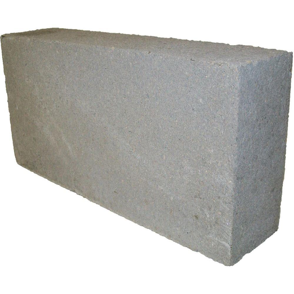 8 in. x 16 in. x 4 in. 31.5 lbs. Concrete Block