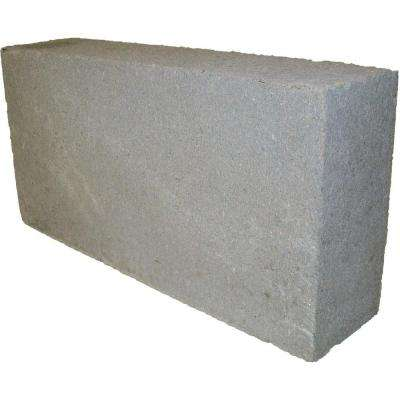 8 in. x 16 in. x 4 in. 31.5 lbs. Concrete Block