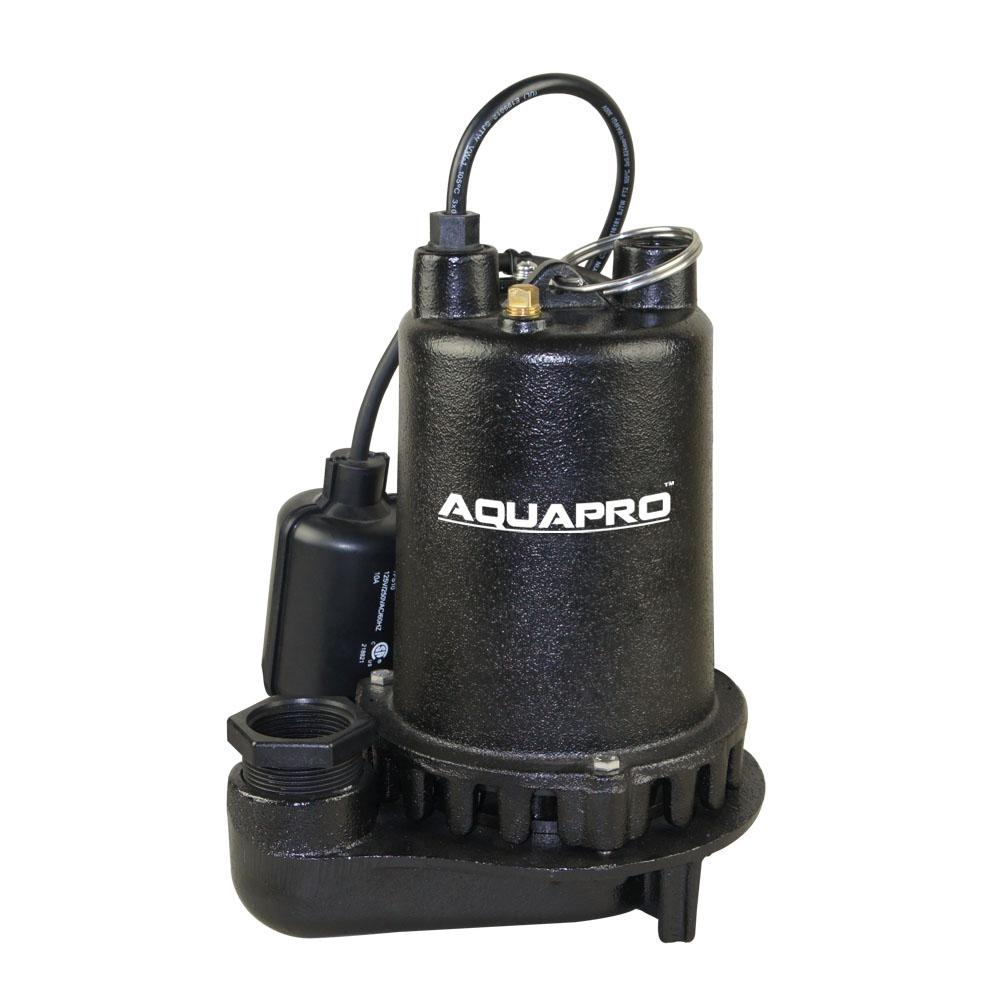 1/2 HP Professional Cast Iron Sump Pump