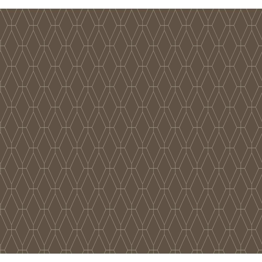 York Wallcoverings Ashford Geometrics Diamond Lattice Wallpaper